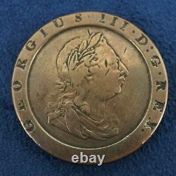1797 Grande-bretagne George III Opium Penny Livraison Gratuite USA