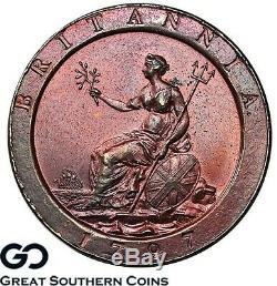 1797 Penny, 1d George Iii, La Grande-bretagne