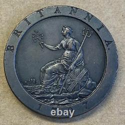 1797 Royaume-uni Grande-bretagne George 111 Roue À Moteur Penny Coin
