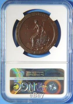 1797 Soho Grande-bretagne George III Preuve Penny Ngc Graded Pf64