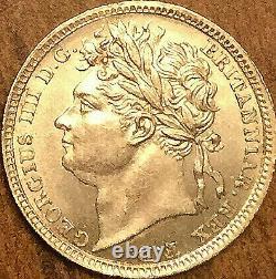 1830 George IV Grande-bretagne Maundy Argent Penny Choix Superbe