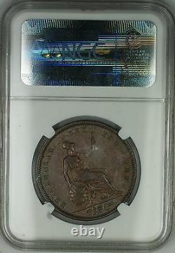 1831 Grande-bretagne Penny Coin William IV Ngc Xf-45 Brown Bn Akr