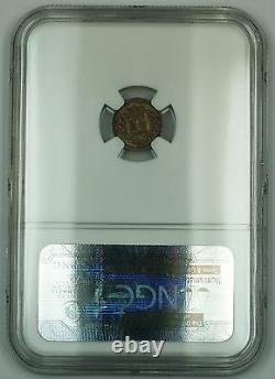 1835 Grande-bretagne Un Penny Et Demi 1.5p Silver Coin Ngc Au-53 Akr
