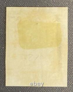 1840 1d Penny Black Sur Piece Croix-rouge Maltaise