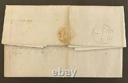 1840 Octobre Penny Black Sur Cover London À Salford Avec Red Maltese Cover