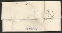 1840 Penny Black (jf) Bon À Grandes Marges Sur L'ensemble De Heysham À Preston