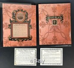 1840 Penny Mondes Noir La Première Série Collection Stamp