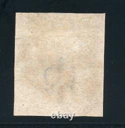 1840 Penny Noir Sg 2 Plaque 1b (p A) 4 Marges Dot En Carré P Variété