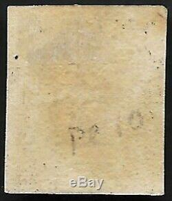 1840 Sg2 1d Penny Black 3 Marges Plate 10 Rare Red MX Très Fine CV Occasion £ 1500