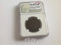 1869 Grande-bretagne Penny Ngc Vf 35 Brown Date Clé