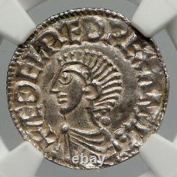 978ad England Grande-bretagne Royaume-uni Roi Aethelred II Argent Penny Coin Ngc I90650