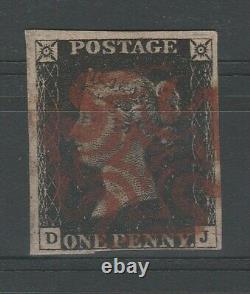 Aa. 101 Grande-bretagne Timbre, 1840, Penny Black