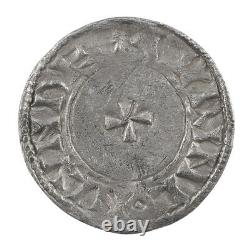 Anglo Saxon Edward The Confessor Silver Penny Facing Bust/small Cross Type 1062
