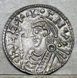 Cnut Silver Short Cross Penny, Wulfric, Canterbury N. 790, P. 1159. Ex M Rasmussen