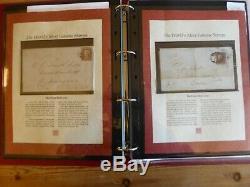 Collection Certifié Red Penny Des Enveloppes / Lettres Comprsing Début 1d Timbre Rouge