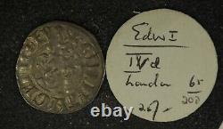 Collection De 9, Royaume-uni Grande-bretagne Edward I Silver Penny De Old Seaby Auctions