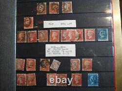 Collection Grande-bretagne Dans L'album Penny Black 1840 Au 15 Janvier 1969