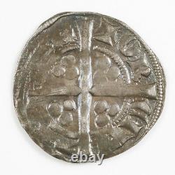 Edouard II Penny À Longues Croix D'argent, Monnaie De Canterbury, Classe 14, 1307-1327