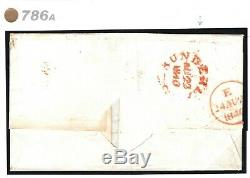 GB Couverture 1840 Clair Noir Profil Penny Plate 1a (ce) Sunderland MX Durham 786a
