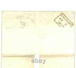 GB Maltese Cross Manuscrit Supplémentaire Annuler Fearn Penny Post 1841 X108
