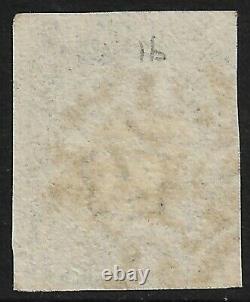 GB Penny Black 4 Margins Avec Croix De Malte Noire (cv £375+)