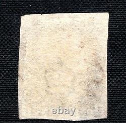 GB Penny Black Qv Sg. 2 1840 1d Plaque 6 (ji) Superbe Brown MX Cat £3 000 Gred40