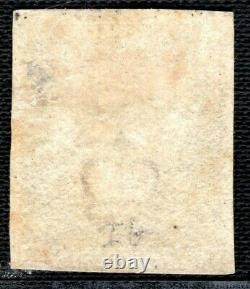 GB Penny Black Qv Timbre Sg. 2 1840 1d Plaque 1b (ih) Menthe LMM Cat 12 500 £ Gred22