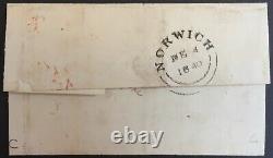 GB Qv 1d Black Cover Sheet Penny Black Imperf Queen Victoria 1er Premier Timbre