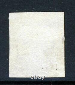GB Qv Penny Black 1840 Plaque 3 Tj Croix Rouge Maltese Sg 1 (spécialement As19a) Vfu