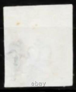GB Qv Sg2 1d Penny Plaque Noire 2 Avec Magenta Rare MX Kj Très Fine Haute CV Utilisé