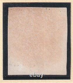 Gran Bretagna 1840 One Penny Black Plate 1a Lett. Tj Superbe Noir Gris