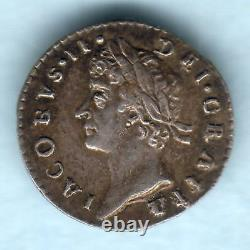 Grande Bretagne. 1687/8 Overdate James Penny 11. Aef / Gvf