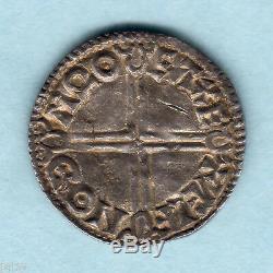 Grande Bretagne. (978-1016) Aethelred 11 Penny Cross Long. Exeter Mint. Gvf