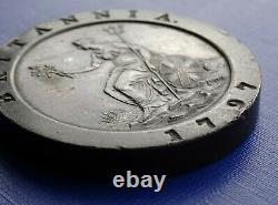 Grande Bretagne Two Penny Cartwheel Coin1797 George Iiikm#619copper 56.7gefine