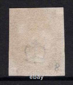 Grande-bretagne 1840 Qv Penny Black Avec 3 Marges Sg1 Cat £525 F/used