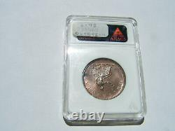 Grande-bretagne George III 1806 1/2 Penny Gem Non Circulé, Certifié Ngc Ms-65-rb