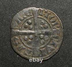 Hammered Edward Ier Irish Silver Penny. La Menthe De Waterford