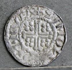 Henry II / Richard I Welsh Hammered Silver Penny, Simond On Rvla. Menthe Rhuddlan
