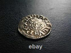 Henry III Argent Voided Long Cross Penny, Classe 3b Lincoln 1216-47