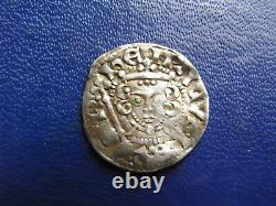 Henry III Argent Voided Long Cross Penny, Classe 5(a-b) Londres 1216-47