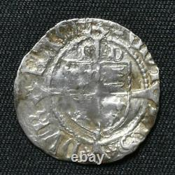 Henry VIII 1509-47, Penny, 1er Coinage, Durham, Bp Ruthall, MM Lis, S2331, N1776