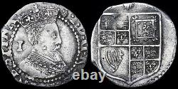 Jacques Ier, 1603-1625. Penny, Mm. Chardon, 1603-1604. 1ère Coinage, 2ème Armoured Bust