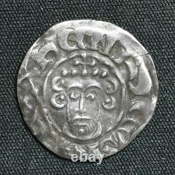 John, 1199-1216, Short Cross Penny, Willelm B/canterbury, Classe 5b3, S1351, N970
