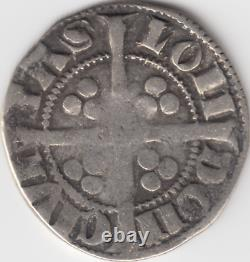 King Edward 1st Original Argent One Penny Hammered Coin 1279 1344 Boxed Coin