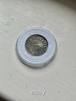 Le Roi John Hammered Argent Penny