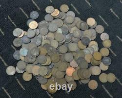 Lot De 220 Grande-bretagne Grands Pennies Cents 1861 À 1967 Comprend Commonwealth