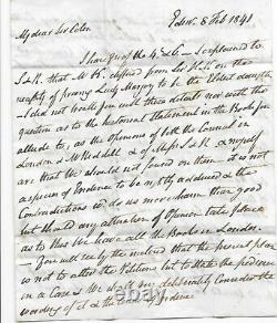 Penny Black Sur 1841 Entière Lettre De Scans Multiples Fr Sir Colin Mackenzie S93