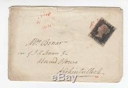 Penny Noir De La Couverture 4 Marges Fait 15/11/1840