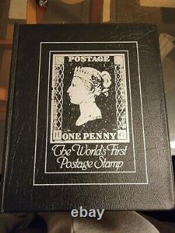 Premier Timbre Du Monde 1840 Grande-bretagne Penny Black Stamp N One Penny