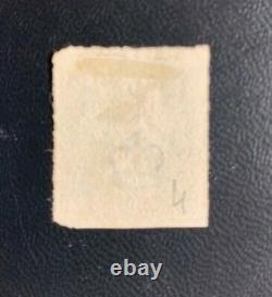 Qv 1840 Penny Black Pl4 T-a / MX Rouge Clair